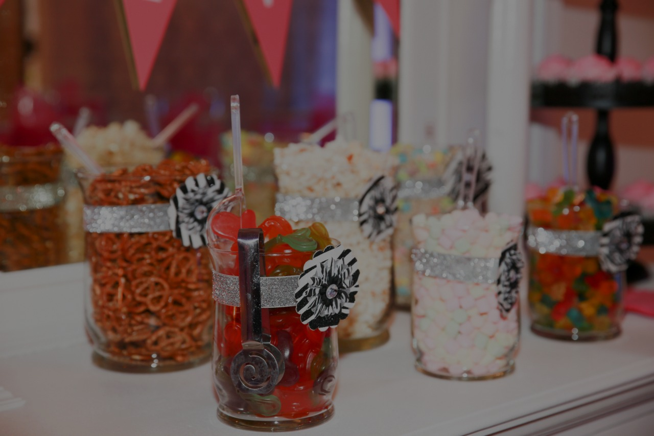 snack bar pampered parties