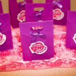 Purple Party Bags