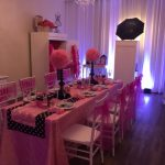 Party Setup for Girls